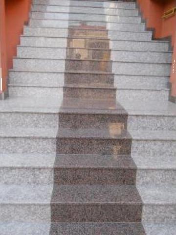 Trepte Scari Din Granit Natural Marmura Travertin