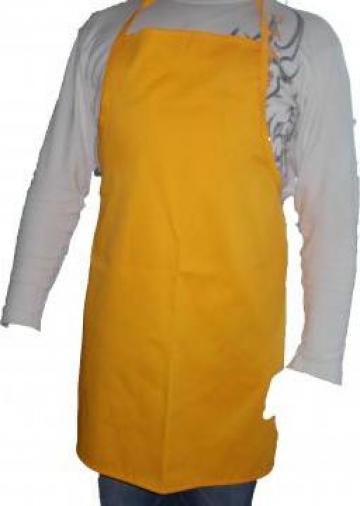 Sort cu pieptar galben JOH46874 pentru vanzatori de la Johnny Srl.