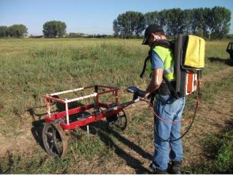 Investigatii geofizice - detectie utilitati si obiecte