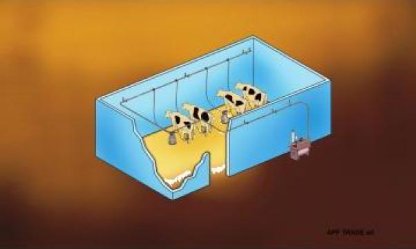 Instalatie de muls la bidon Sezer