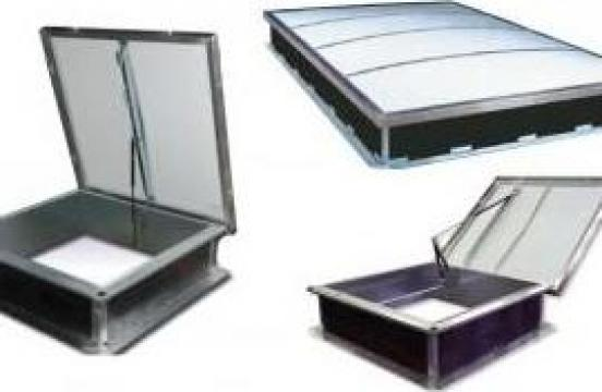 Luminatoare fixe, acces pe acoperis, ventilatie de la Shev Systems Srl