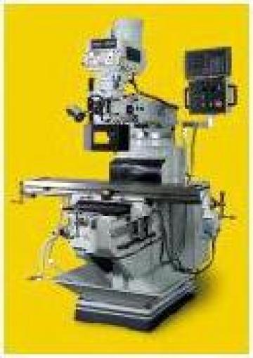Masina de frezat cu afisaj numeric FNS-55PD de la Concept Design Construct Srl