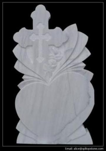 Marmura alba monumente funerare de la Qingdao Top Stone Co., Ltd