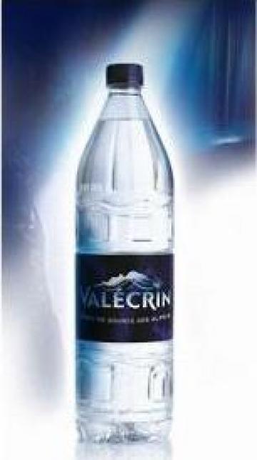 Apa minerala naturala Valecrin Eau de source des Alpes de la Carpat Trading And Business