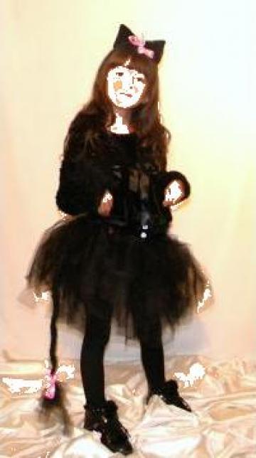Inchiriere Costum serbare fetite Pisica 556 de la Sabine Decor Shop Srl-d