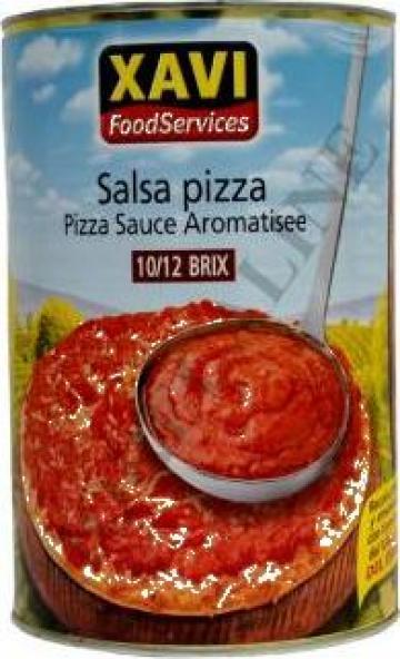 Sos pizza aromatizat Xavi 4.1 kg de la S.c. D&D Food S.r.l.