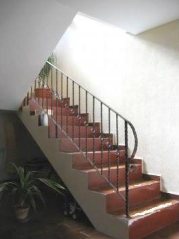 Balustrade scari interioare de la Pfa Cirstica Florin