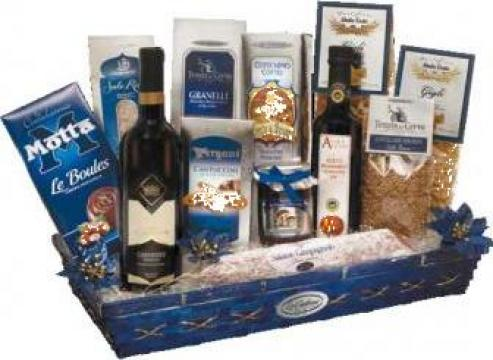Cos cadou Cristallo pentru Sf. Valentin si Dragobete de la Italian Market Distribution