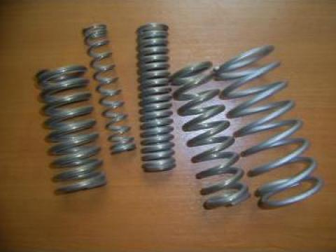Arcuri elicoidale cilindrice, conice de compresiune din inox de la Tehnocom Liv Rezistente Electrice, Etansari Mecanice