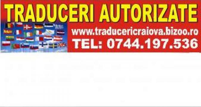 Traduceri acte auto limba italiana