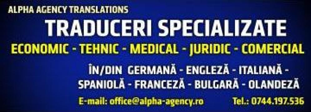 Traduceri toate domeniile de la Traducator Autorizat Limba Germana Ramona Prodea