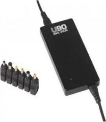 Incarcator universal pentru laptop Infosec U90 Slim de la Ask Tim