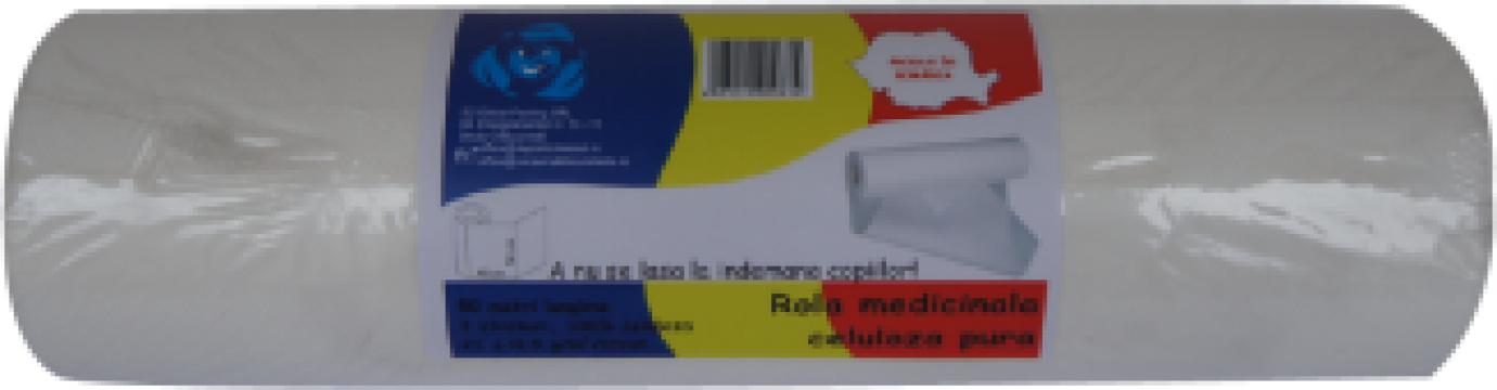 Rola hartie medicala 2 straturi, laminata de la Global Packing Srl