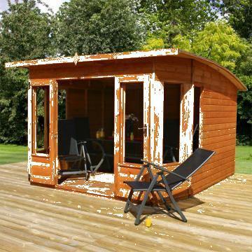 Case de gradina din lemn de conifer