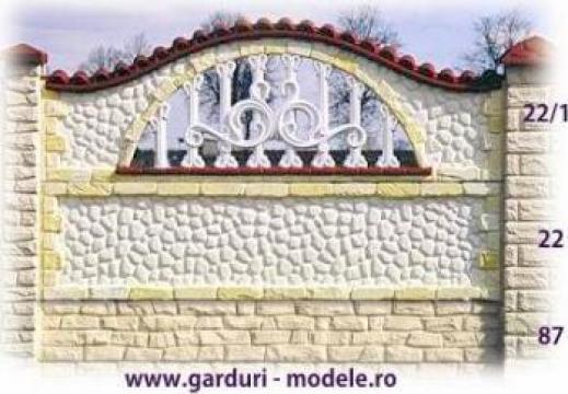 Garduri din beton armat de la Amonra Sun Srl