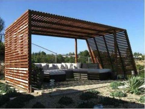Pavilioane gradina din lemn de la Rollux Construct