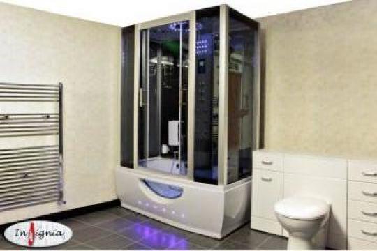 Cabina dus cu hidromasaj si sauna umeda Brampton de la La Catalin& Co Srl