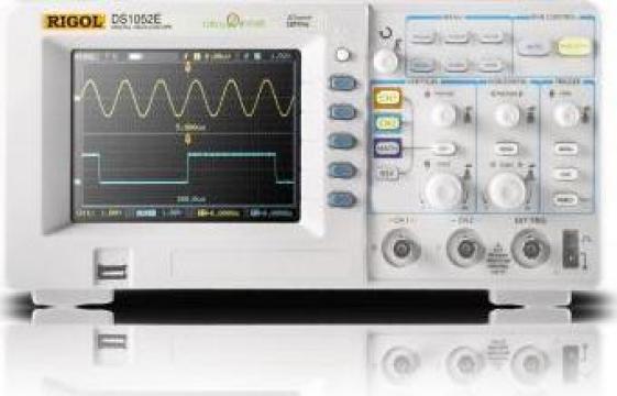 Osciloscop digital DS1000E de la Age Sys Srl