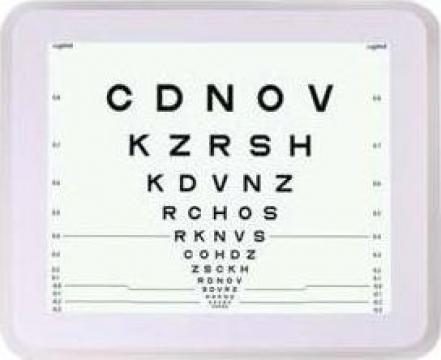 LCD verificare acuitate vizuala de la Diacena Medical Srl