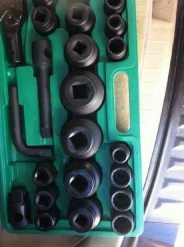 Trusa tubulare 3/4 impact pana la 65 mm