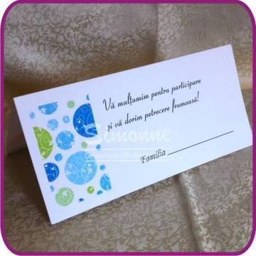 Plic de bani nunta, plic de bani botez, place card de la Simonne