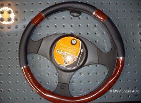 Husa volan autoturisme 37-39 cm de la Mvv Logan Auto Srl
