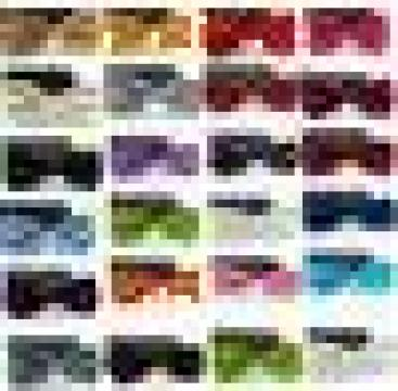 Papioane colorate, diverse modele de la Johnny Srl.