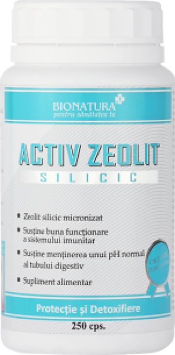 Supliment alimentar Activ Zeolit Silicic 250 cps