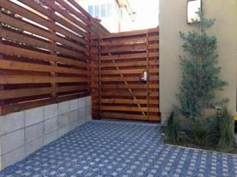 Garduri din lemn Ilfov de la Rollux Construct