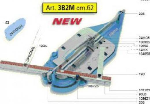 Masina taiat faianta si gresie Sigma 3 Max 62,5 cm 3 B4M
