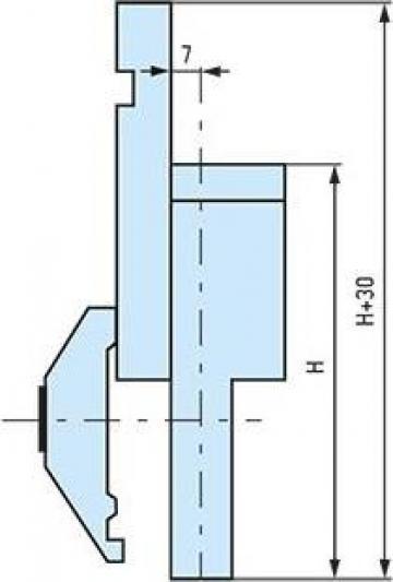 Adaptoare mecanice pentru poansoane