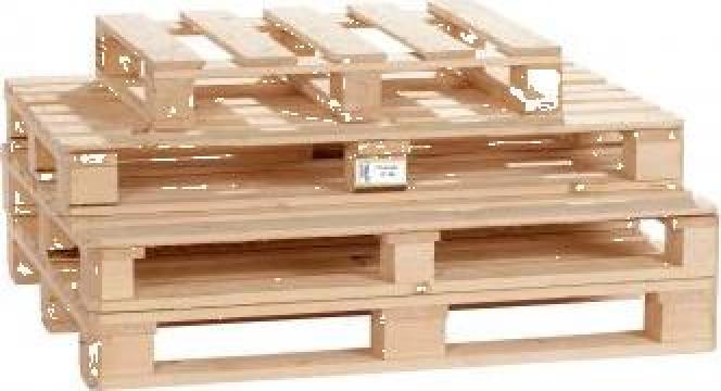 Paleti din lemn atipici ISPM 15