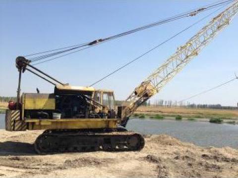 Excavator Draglina Nobas de la Muntenia Intermed Company