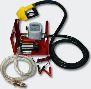 Pompa transfer combustibil 12v cu contor si filtru motorina de la Trolii-auto.ro