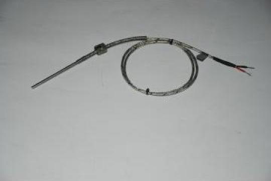 Termocuplu J cu manson culisabil pe arc de la Termoelectric - Producator
