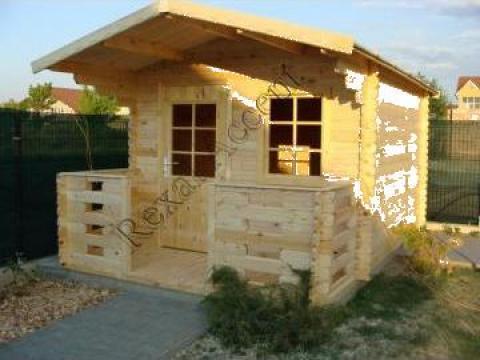 Casute de lemn cu terasa Clara de la Rexal Accent Srl