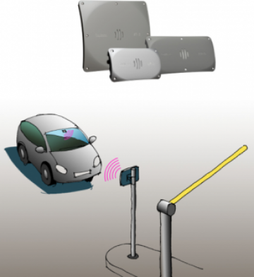 Sistem control acces auto la distanta