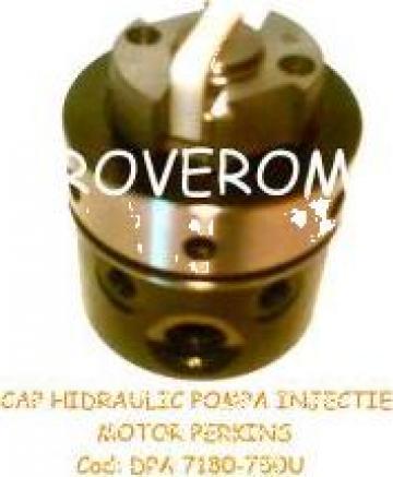 Cap hidraulic pompa de injectie motor Perkins (6 cilindrii) de la Roverom Srl