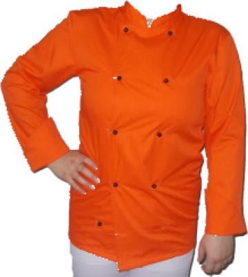 Tunica de bucatar portocalie de la Johnny Srl.