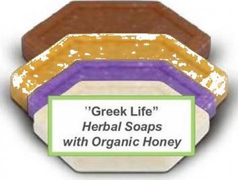 Cosmetice naturale ulei de masline, miere, mastica