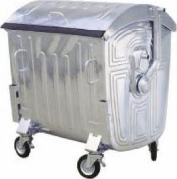 Eurocontainer metalic zincat 1100L