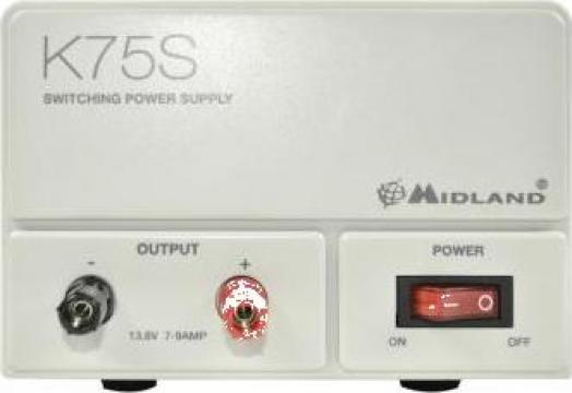 Sursa de tensiune 220VCA -13.8Vcc 7- 9A de la Electro Supermax Srl