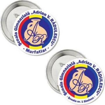Insigne personalizate, metalice, plastic de la Sian Image Media Srl