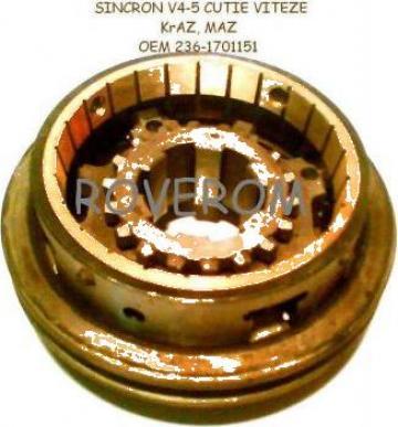 Sincron V4-5 cutie viteze Kraz, Maz (motor YaMZ-238/238)