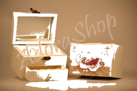 Cutie Bijuterii Lemn de la Adora Shop