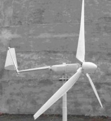 Turbina eoliana de 1kw/3,2m de la Fundatia Ave Maria