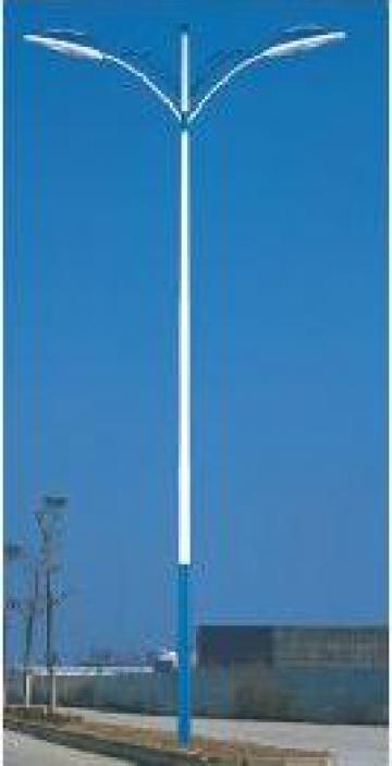 Stalp iluminat otel zincat PLGXA17
