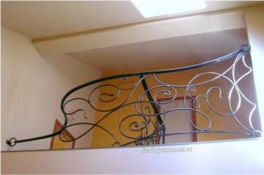 Balustrada interioara cu liane si inele BA 30
