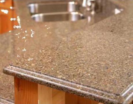 Blat de masa din marmura / granit / travertin de la Color It Invest