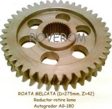Roata melcata reductor rotire lama AG-180 de la Roverom Srl